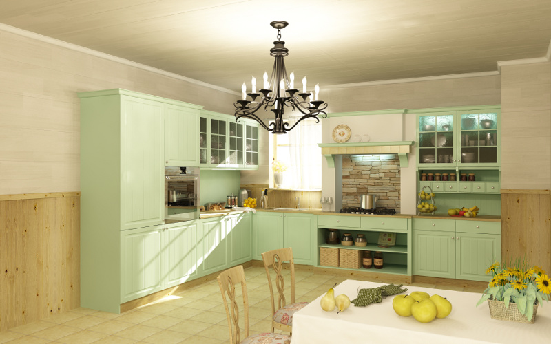 Декоративные панели для кухни органично сочетают качество ремонта и его доступный бюджет