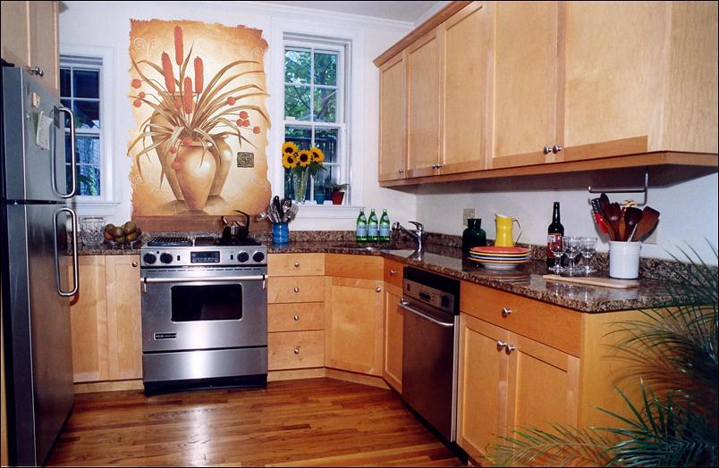 Фрески на кухне – это необыкновенно красиво