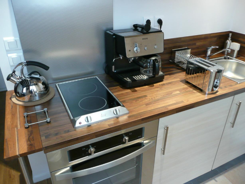 Встроенная кухонная электроплита