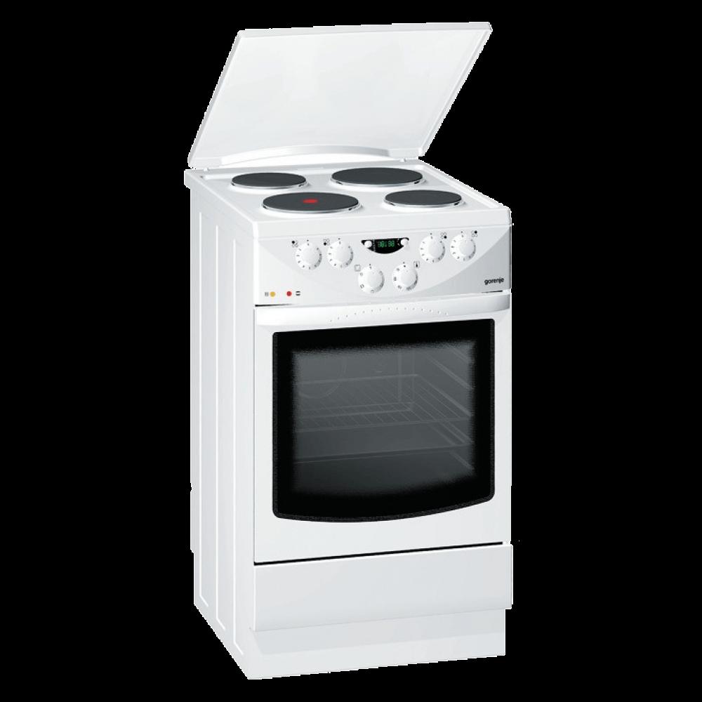 Недорогой вариант для кухни – это электроплита с эмалированным покрытием.