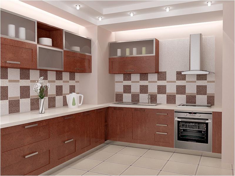 Плитка отлично подходит для отделки стен, рабочей зоны, пола или кухонного фартука.