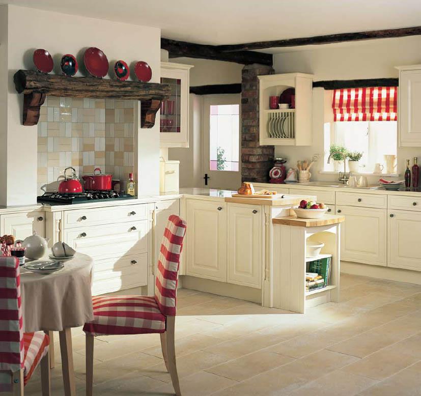 Семейную атмосферу и уют, кухне предает деревенский стиль
