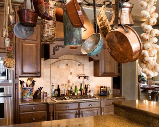 Самый главным компонентом, при оформлении кухни, является декор