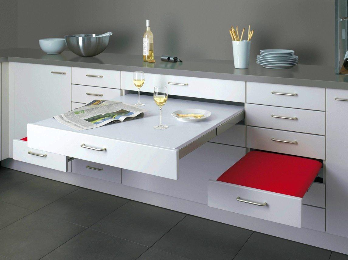 Выдвижная мебель - стильно и удобно