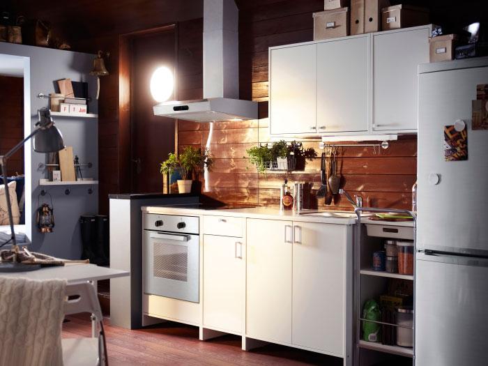 Кухонная мебель Икеа считается образцовой среди бюджетных решений.