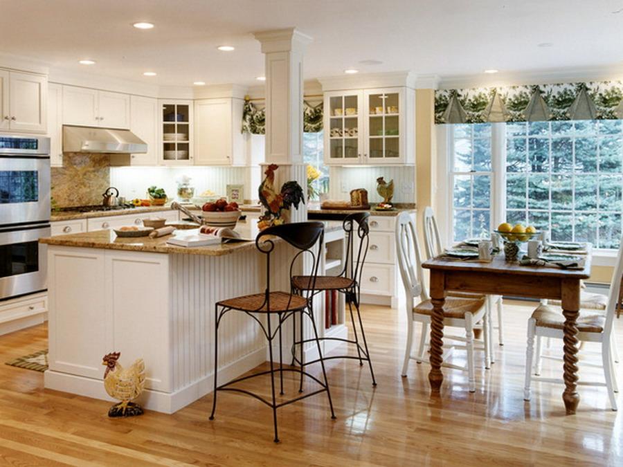 Кухня в стиле кантри — это создание уюта и комфорта