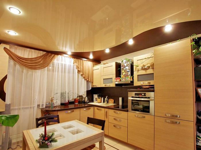 Натяжной потолок – неисчерпаемый источник дизайнерского вдохновения