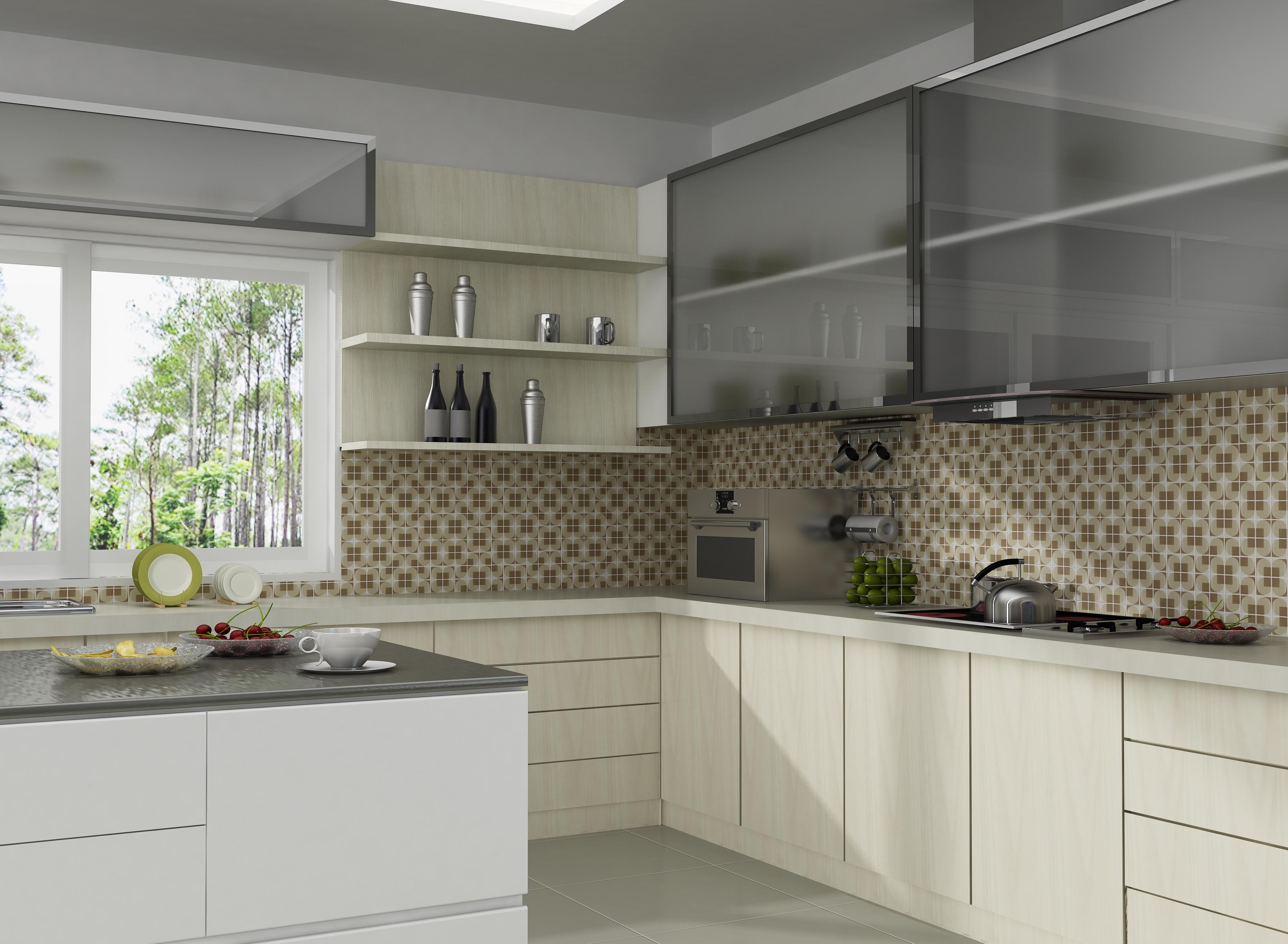 Плитка мозаика для кухни идеальное решение