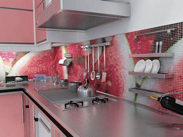 Мозаика для фартука на кухню хорошее решение