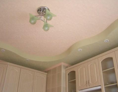 Потолок из гипсокартона идеальное решение