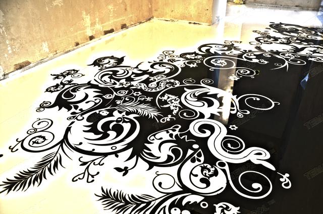 Наливной пол - один из самых современных видов напольного покрытия