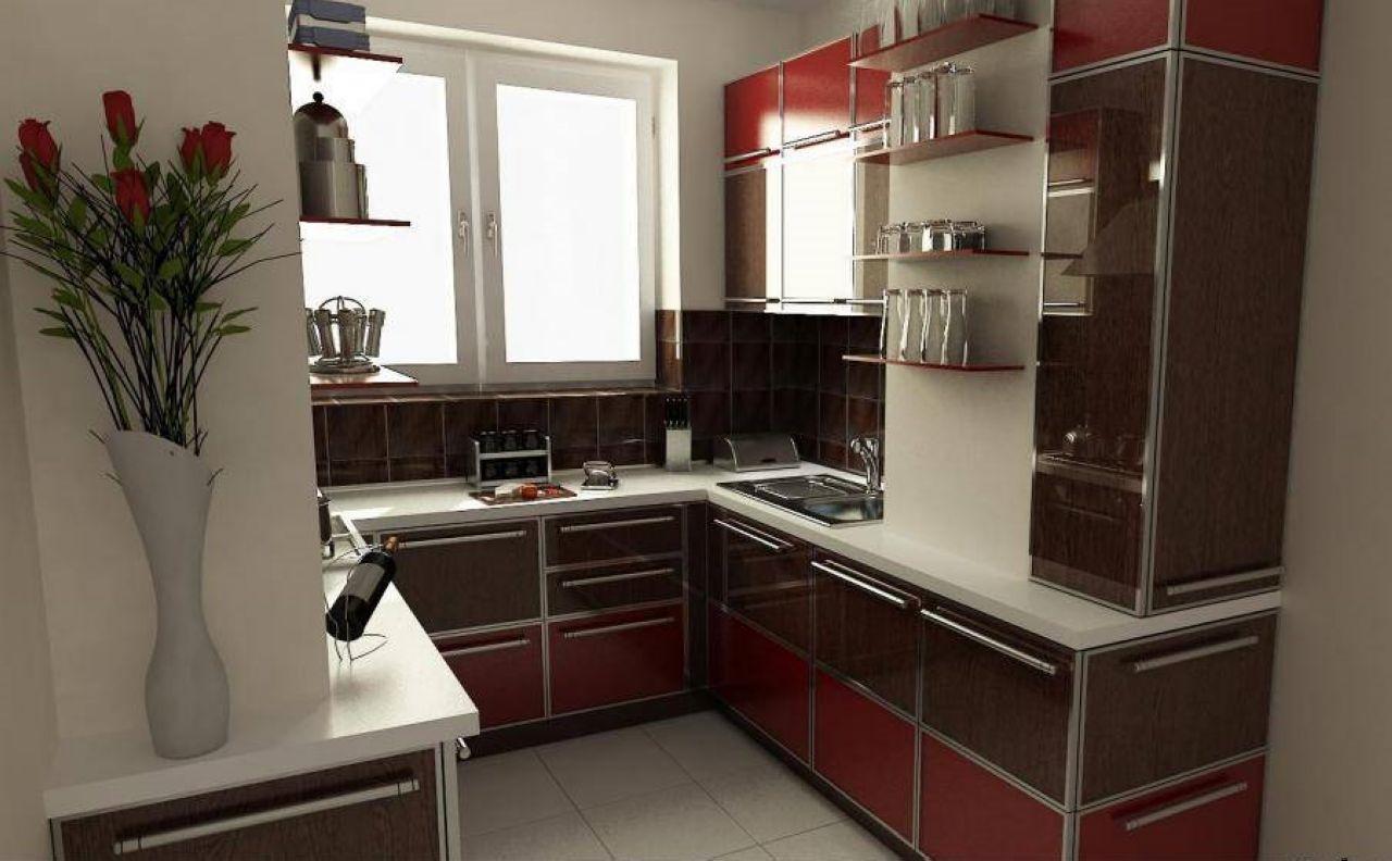 Дизайн кухни с вынесенным балконом дизайн кухни - фото, опис.