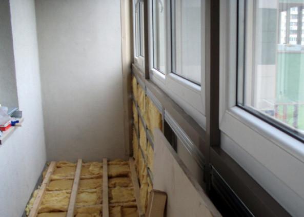 Утепляем балкон