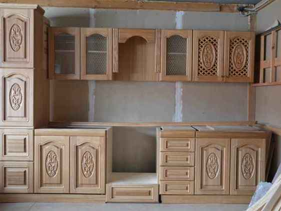 Своими руками кухонный гарнитур из дерева