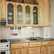 Кухня из мебельных щитов на дачу своими руками