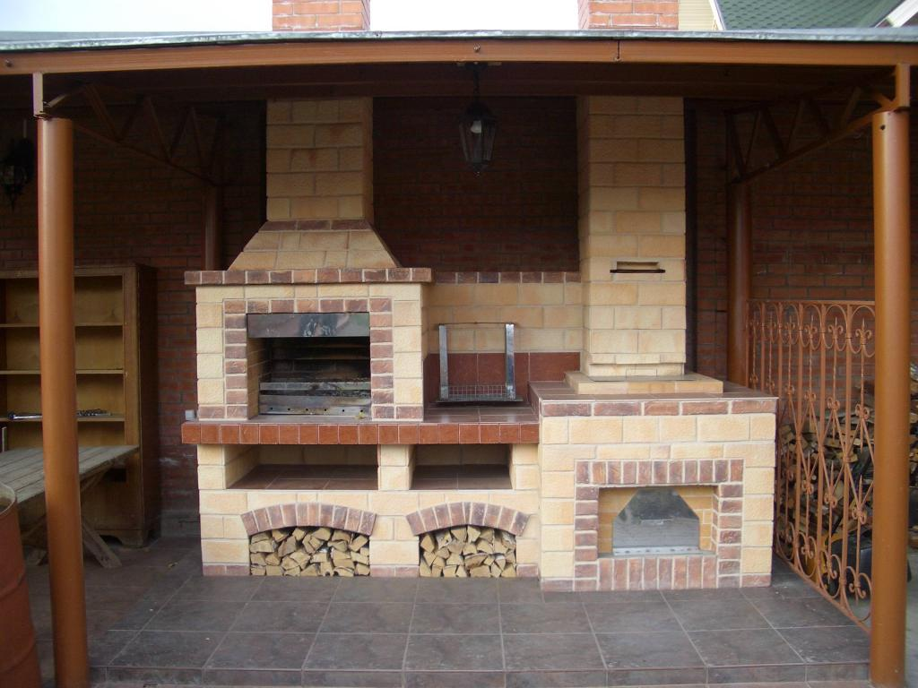 схема постройки беседки домик
