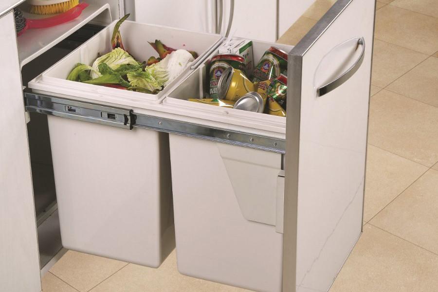 Сортировка мусора на кухне — первый этап перехода на раздельный сбор отходов