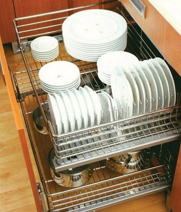 Сушки для посуды и лотки для кастрюль