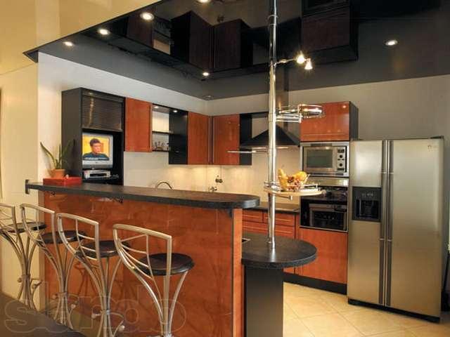 Натяжной потолок не подвержен многим физическим воздействиям