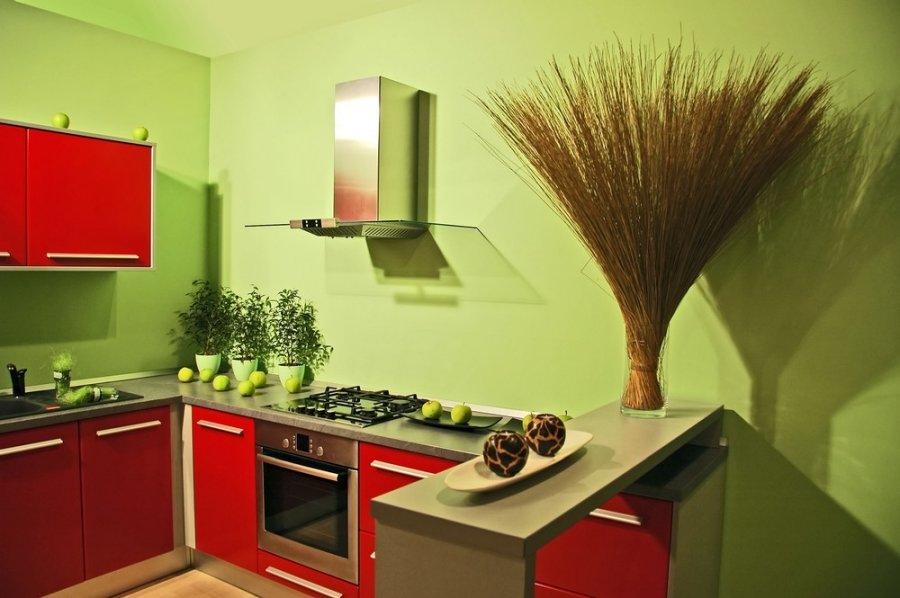 Цвет стен определяет стиль помещения