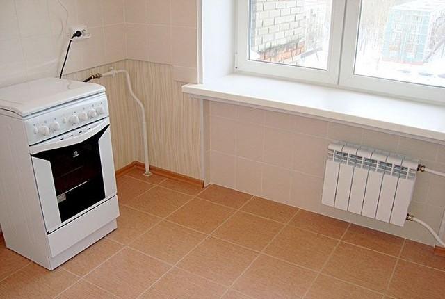 Новая кухня после ремонта