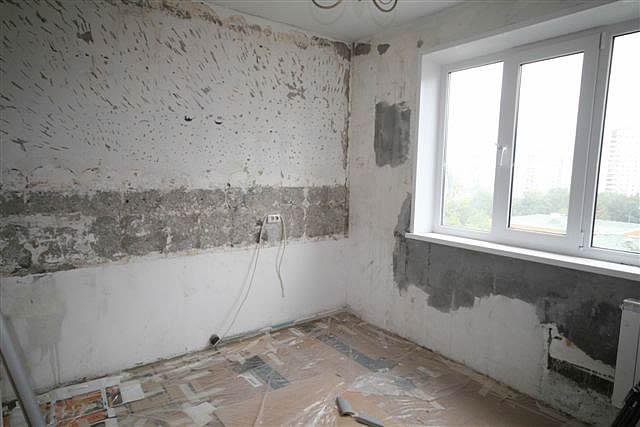Подготовка стен и потолка важный этап ремонта