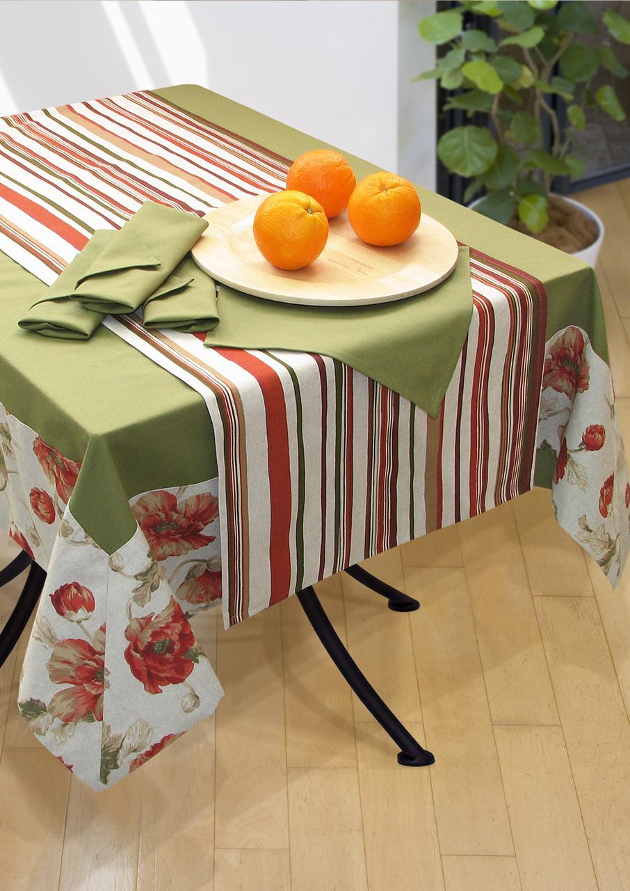 фото скатерти на кухонный стол