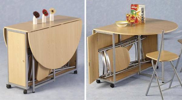 Столы-трансформеры для кухни своими руками фото