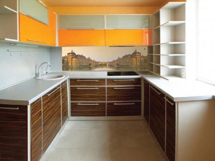 Естественное освещение на кухне очень важно