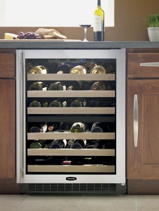 Встроенный холодильник для вина