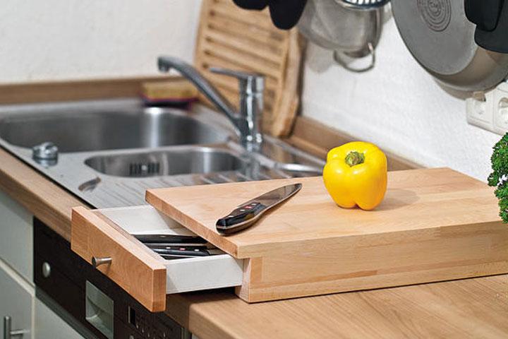 Кухонные доски можно изготовить любой формы и размера