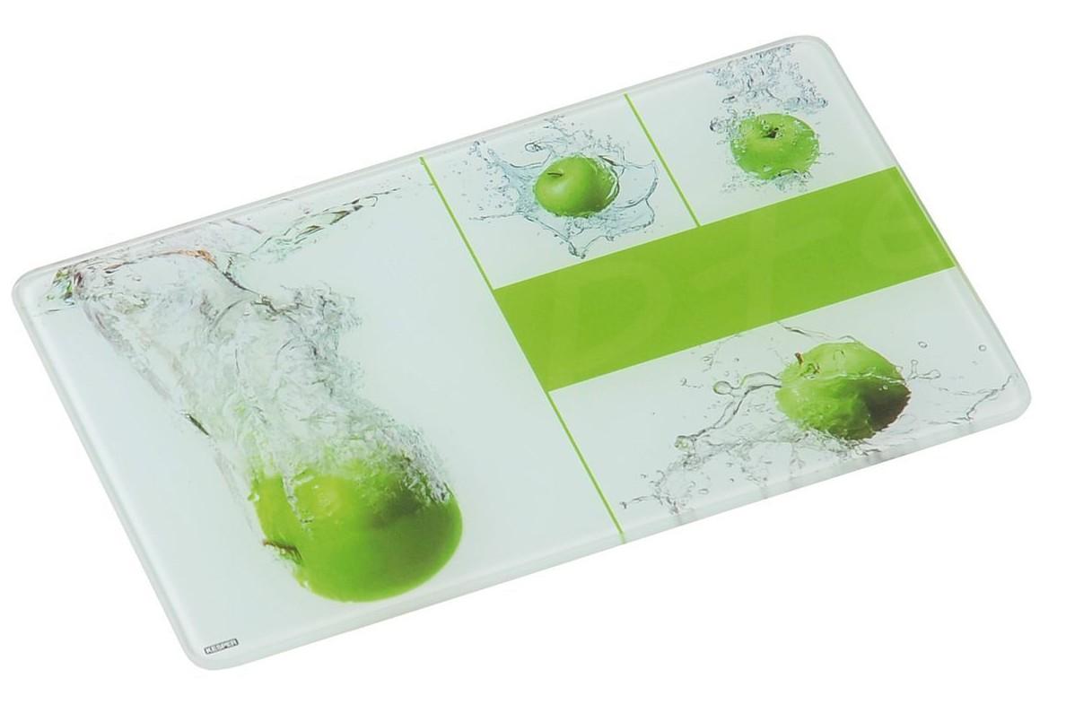Стеклянные доски – отличный вариант для нарезки овощей.