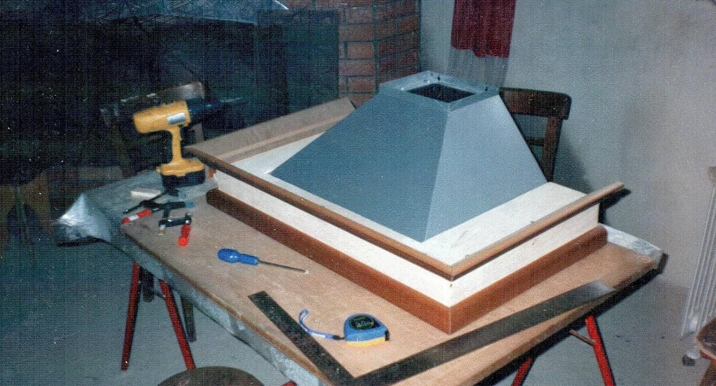 Инструменты и материал для изготовления вытяжки