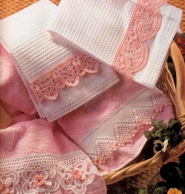 Махровое полотенце для кухни - недорого, стильно и необычно.