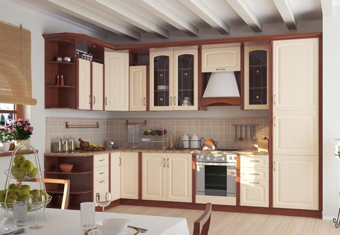 Модульная кухня Регина – недорогой и очень привлекательный вариант.