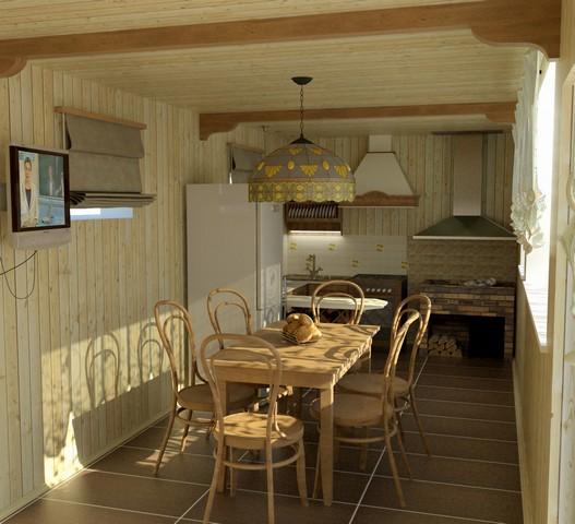 Летняя кухня – излюбленное место отдыха многих дачников.