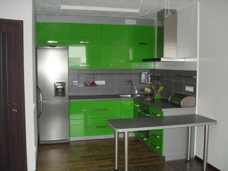 Кухонный уголок в стиле модерн