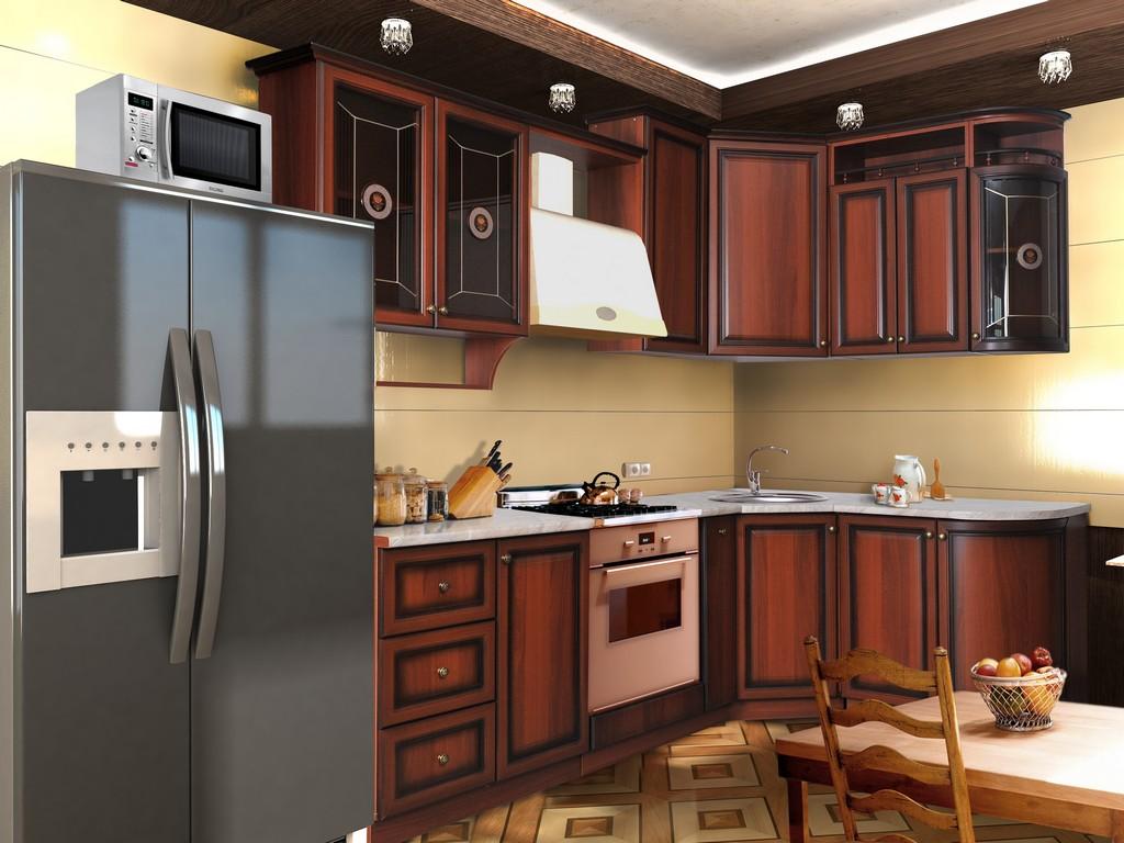 кухни фото дизайн угловые классика