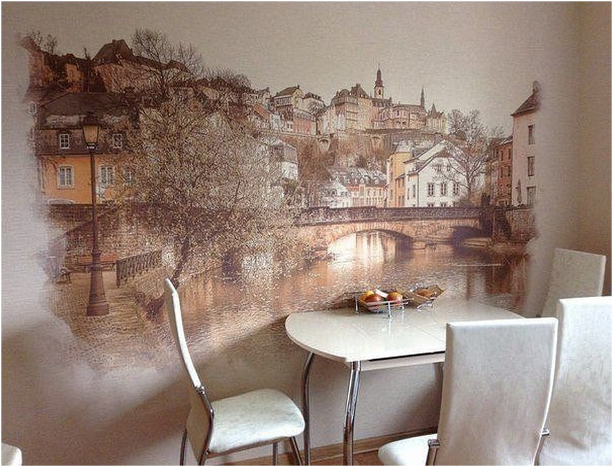 Вид на реку или городской пейзаж придаст дополнительного пространства