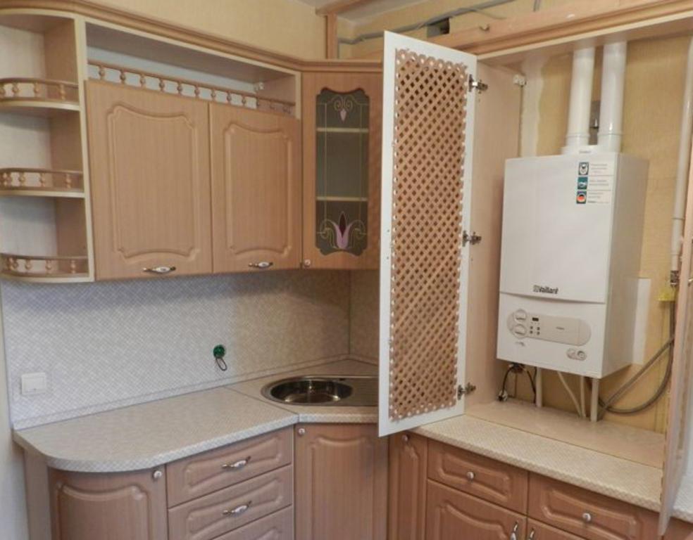 Дизайн кухни с котлом фото 2