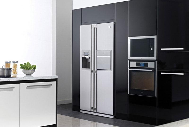 Подобные холодильники очень вместительны