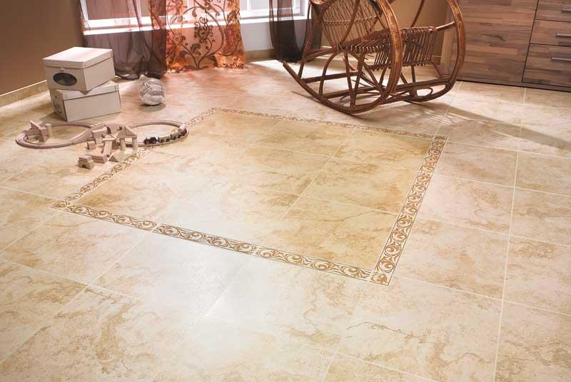Испанская плитка в отделке жилых помещений смотрится роскошно