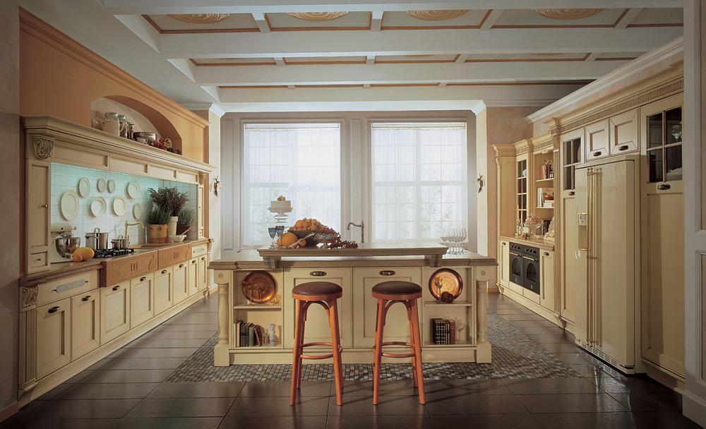 Элитная кухня в стиле кантри