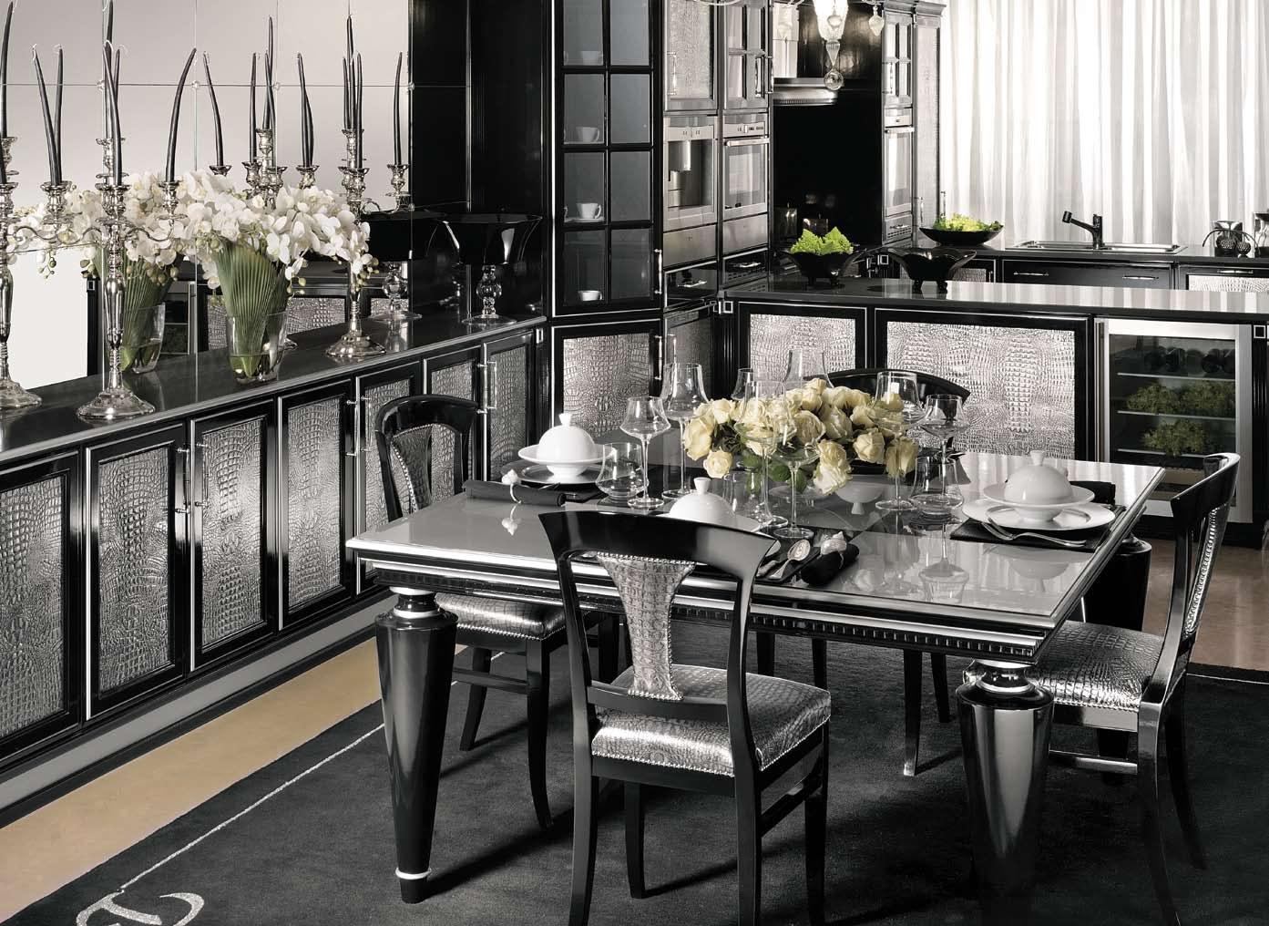 Особенности стиля – это смелая геометрия мебели и интерьера