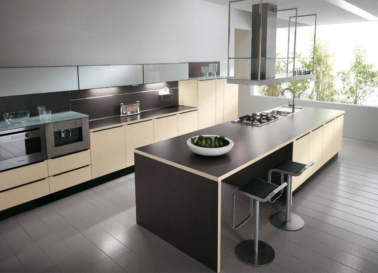 При обустройстве кухни-острова размер, пожалуй, главный параметр, влияющий на эргономику пространства.