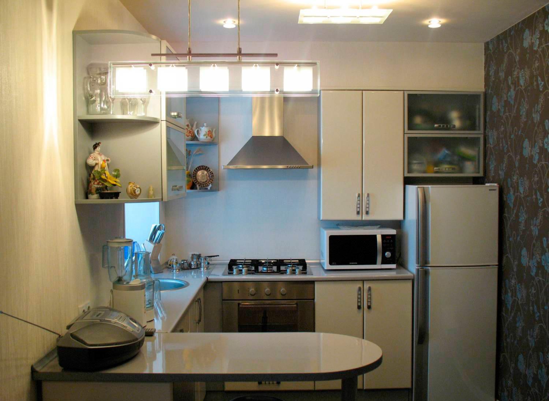 Кухня в хрущевке дизайн фото 5 кв