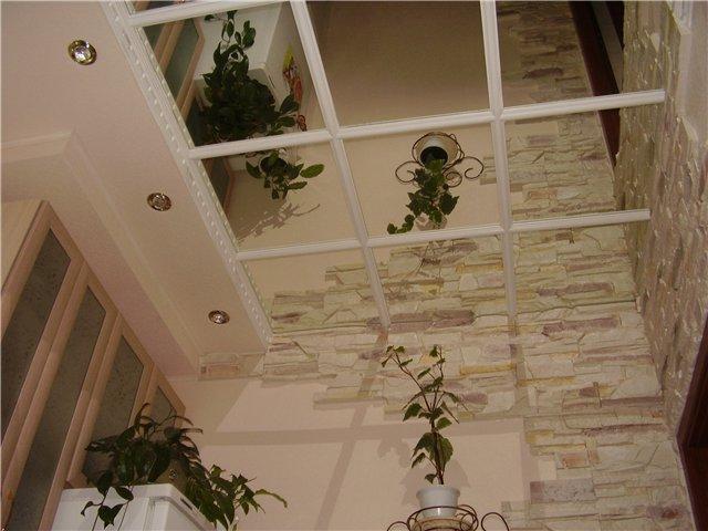"""Зеркальный потолок создаст ощущение наличия """"Второго света"""""""