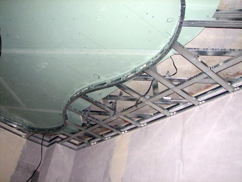 Как делать подвесные потолки своими руками