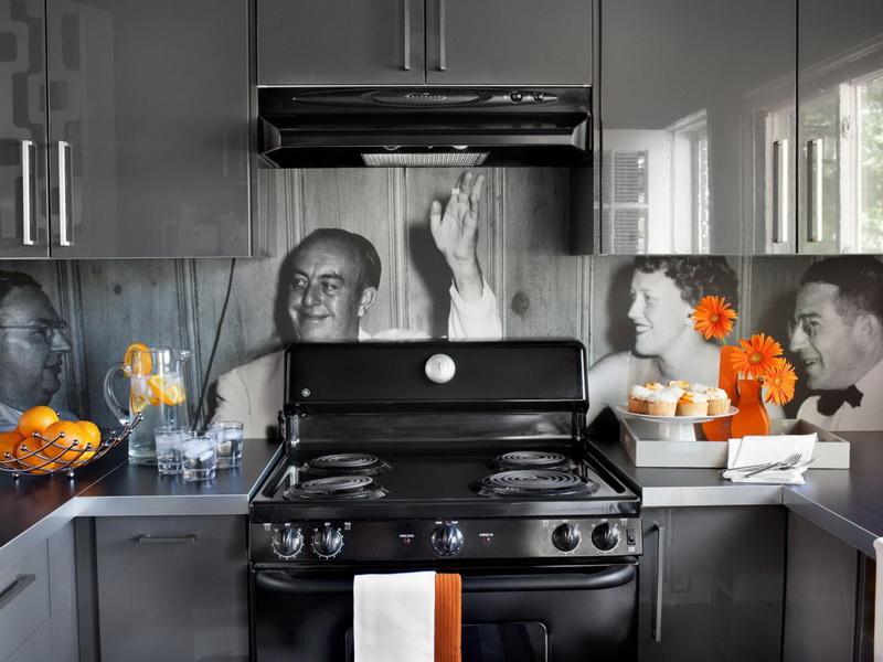 Скинали для кухни это альтернатива для приевшийся керамической плиткки