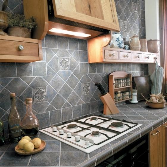 Своими руками сделать кафель на кухню